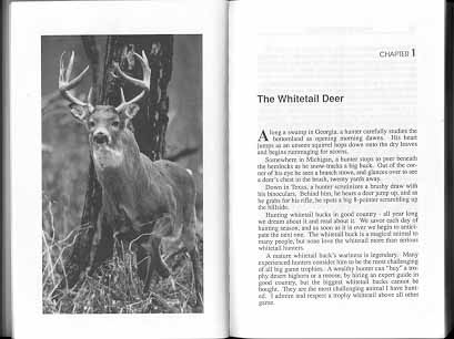 Boone and Crockett Record Book Whitetail Deer