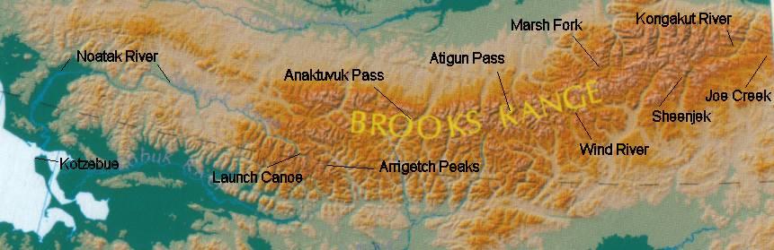 Alaska Traverse: Maps and Plans – Outdoor Adventures