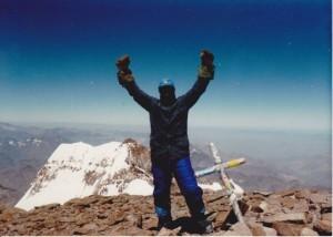 Aconcagua Summit, 22,841' (6,962 m)