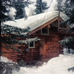 My home cabin in Alaska.