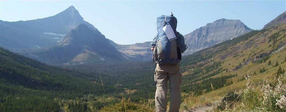 Continental Divide Trail, Glacier NP
