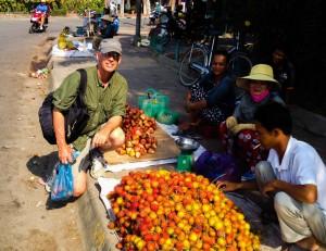 Buying Rambutans aka Chom Chom