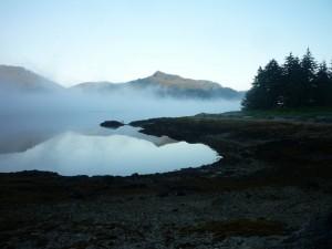 Fog, Admiralty Island, Alaska