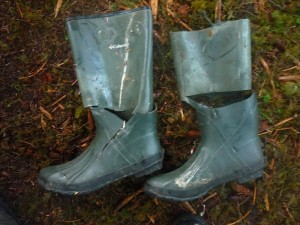 Columbia Rubber Boots fail