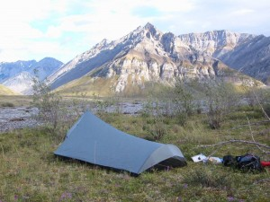 Brooks Range backpacker camp
