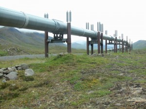 Alaska Pipeline at the Haul Road