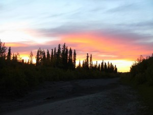 Noatak River Sunset