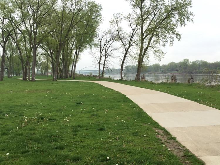 Sioux City bike trail