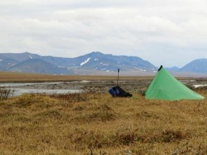 North Slope camp ANWR
