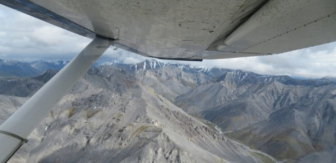Flying over the Brooks Range