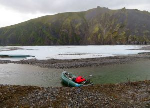 Kayaking in ANWR