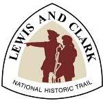 Lewis and Clark National Historic Trail Sign