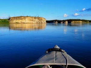 Porcupine River bluffs