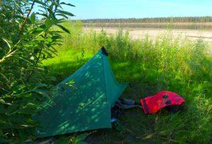 Yukon River Campsite